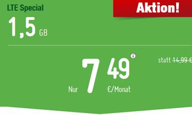 Screenshot: Smartmobil LTE Tarife