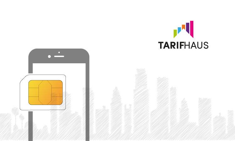 Tarifhaus Logo und SIM-Karte