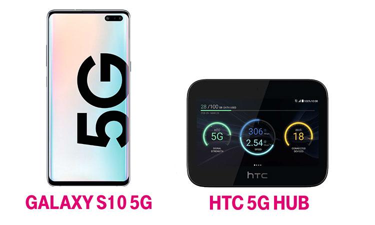 Telekom 5G Smartphone & 5G Hotspot