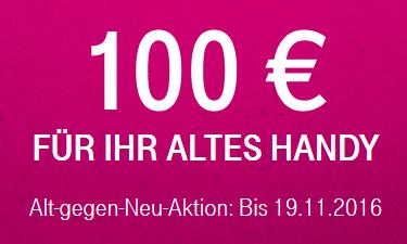 Telekom Alt gegen Neu Aktion: 100 € Gutschrift für das alte Handy