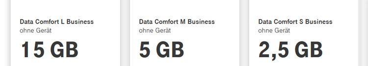 Telekom Data Comfort Business