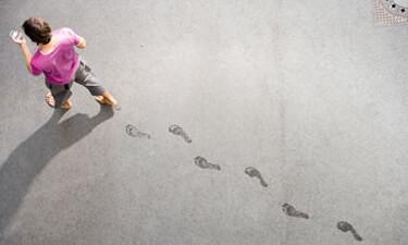 Werbebild für Telekom LTE: Mann mit Smartphone