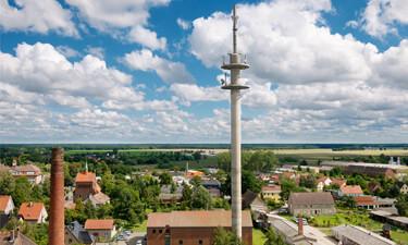 Telekom Mobilfunkmast in Kyritz (Quelle: Telekom)