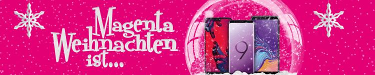 Telekom Magenta Weihnachten