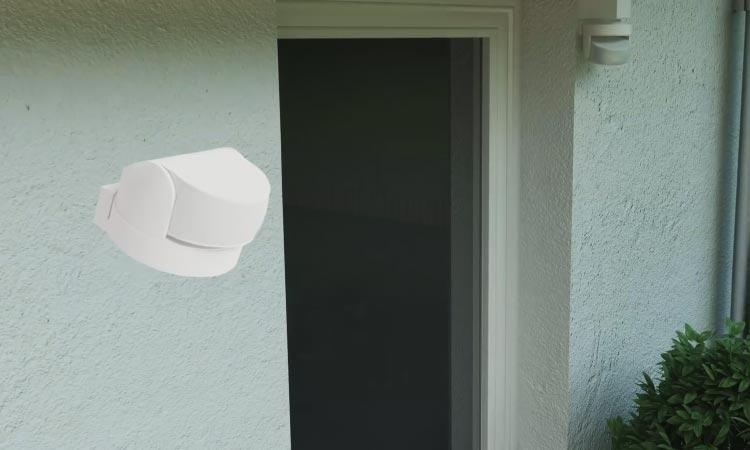 Telekom Smart Home Bewegungsmelder (außen) im Einsatz