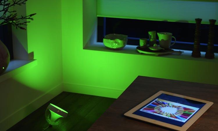 Lichtfarbe der eigenen Stimmung anpassen: Philips Hue im Telekom Smart Home