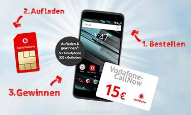 Screenshot: Internetshop von Vodafone Callya