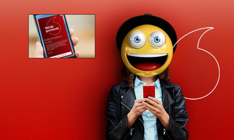 Vodafone GigaBoost Startseite