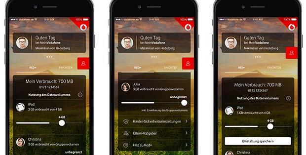 Vodafone Red Kids Den Handytarif Mit Den Kindern Teilen