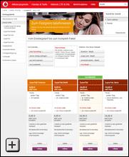 Vodafone SuperFlat: Tarife für mobiles Telefonieren