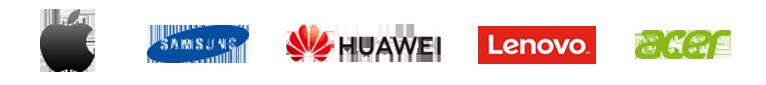 Tablet Hersteller Logos