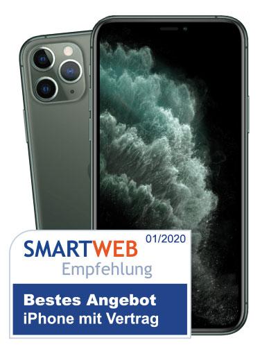 SmartWeb Empfehlung iPhone mit Vertrag