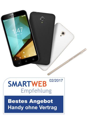 SmartWeb Empfehlung Handy ohne Vertrag