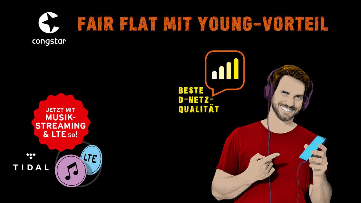congstar Fair Flat Young