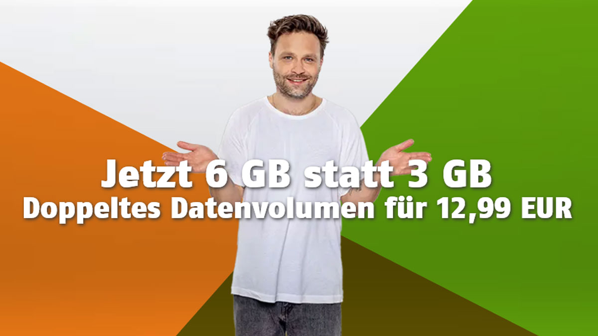 Klarmobil Allnet Flat 3 GB LTE TV Aktion