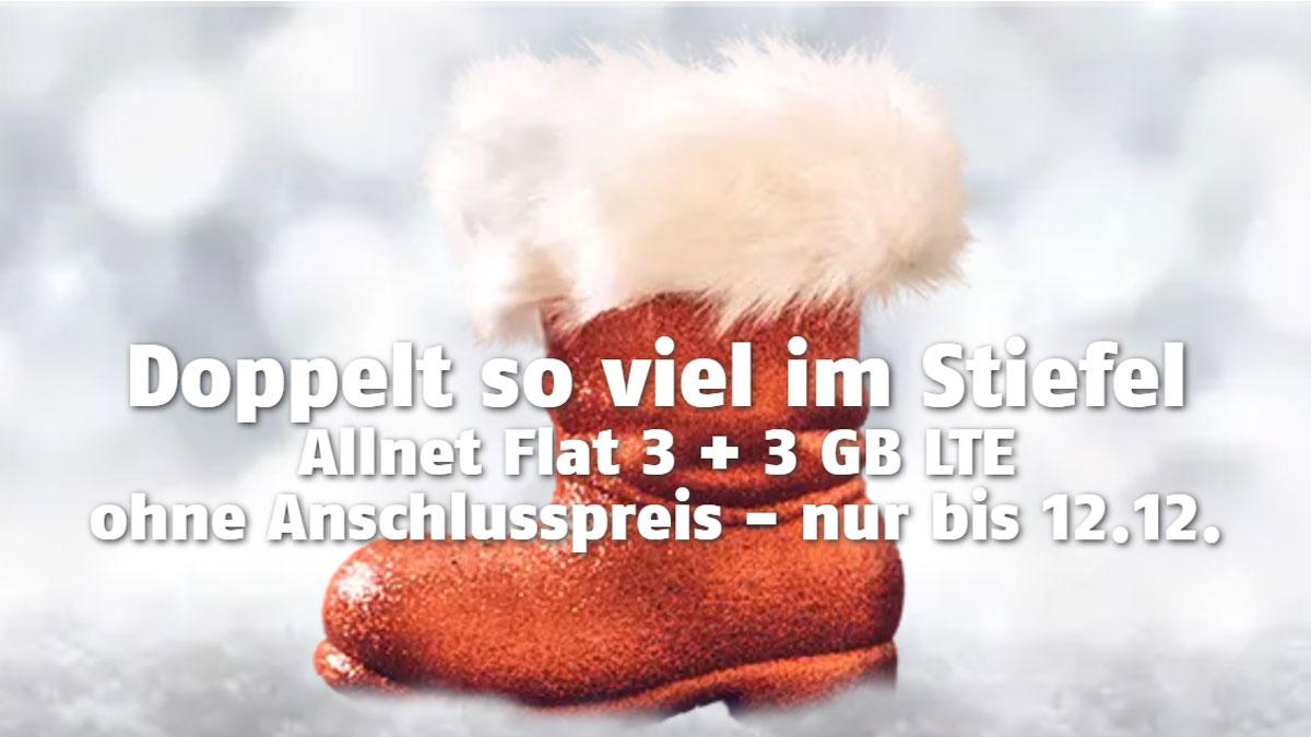 Klarmobil Nikolausaktion 6 GB Allnet Flat