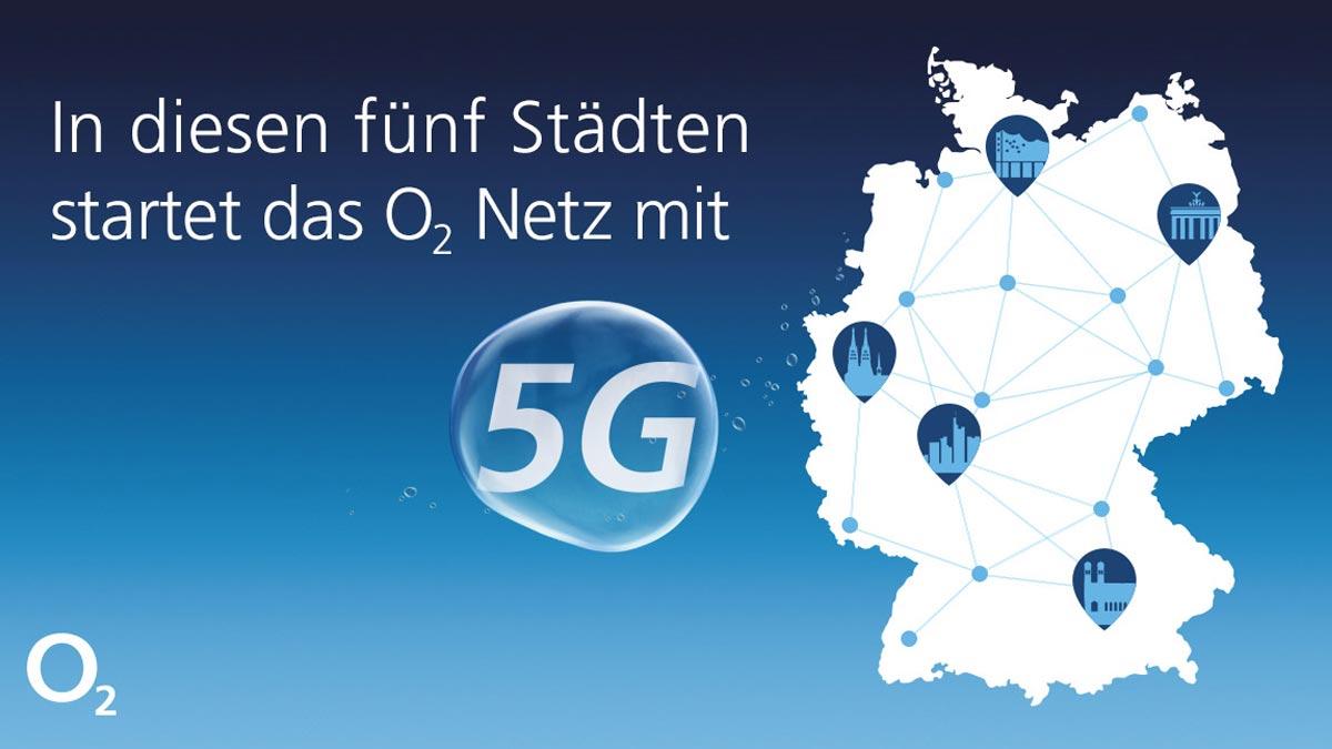 o2 5G Ausbau-Planungen für 2020