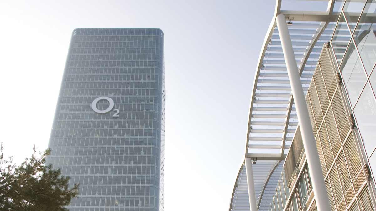 o2 Firmengebäude