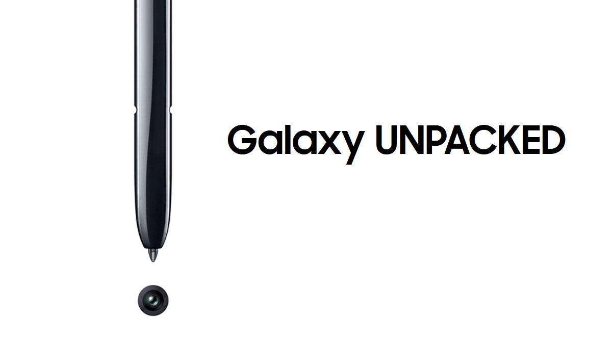 Samsung Galaxy Note 10 Unpacked