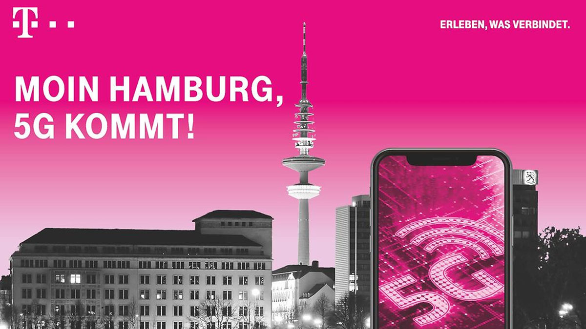 Telekom 5G in Hamburg