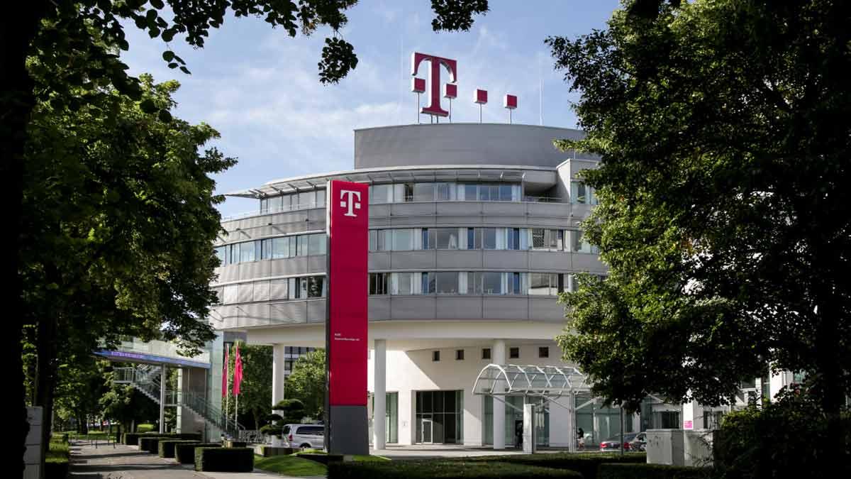 Telekom Firmengebäude