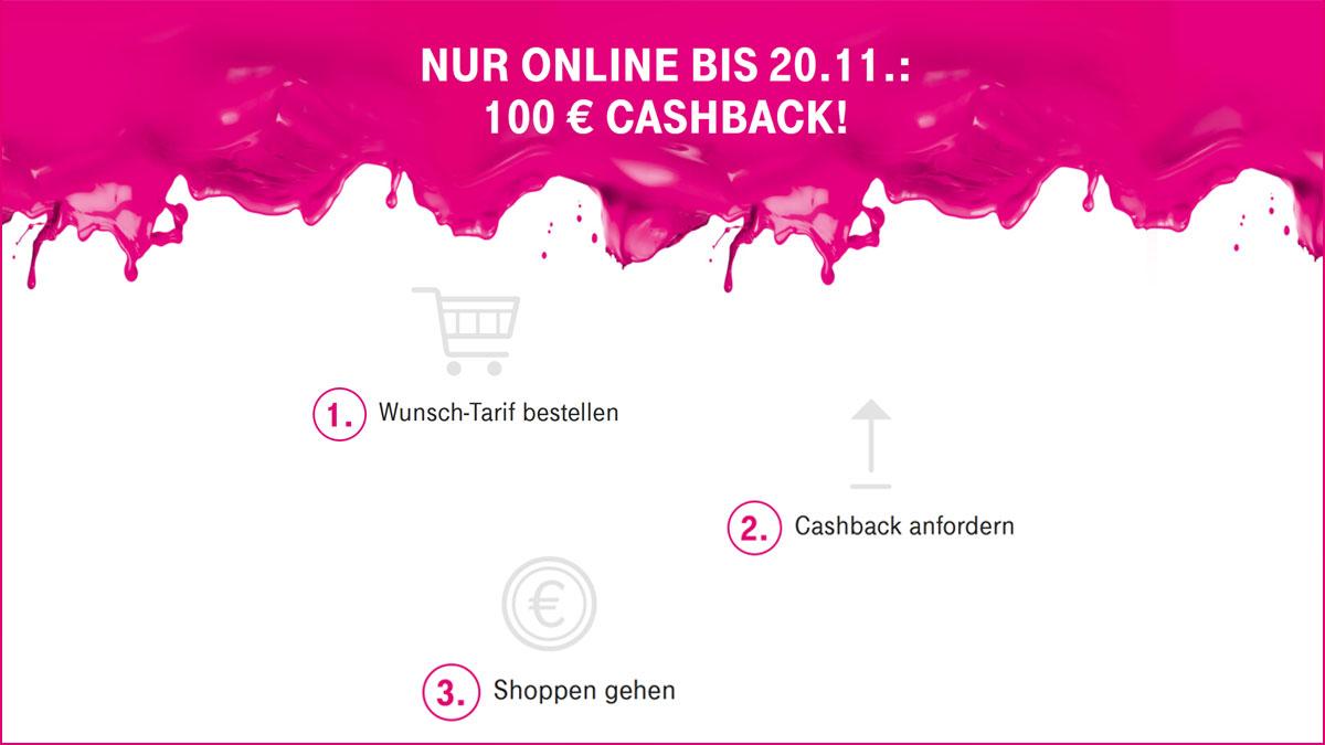 Telekom Cashback Einlösen