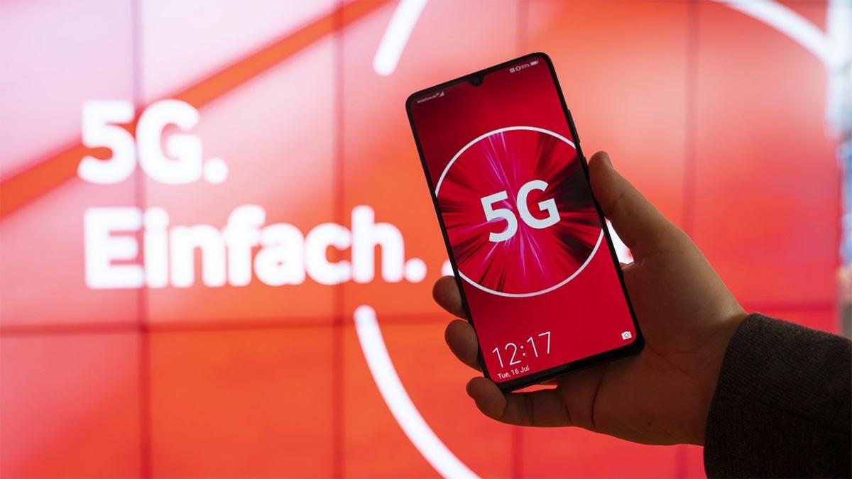 Vodafone 5G Mobilfunk