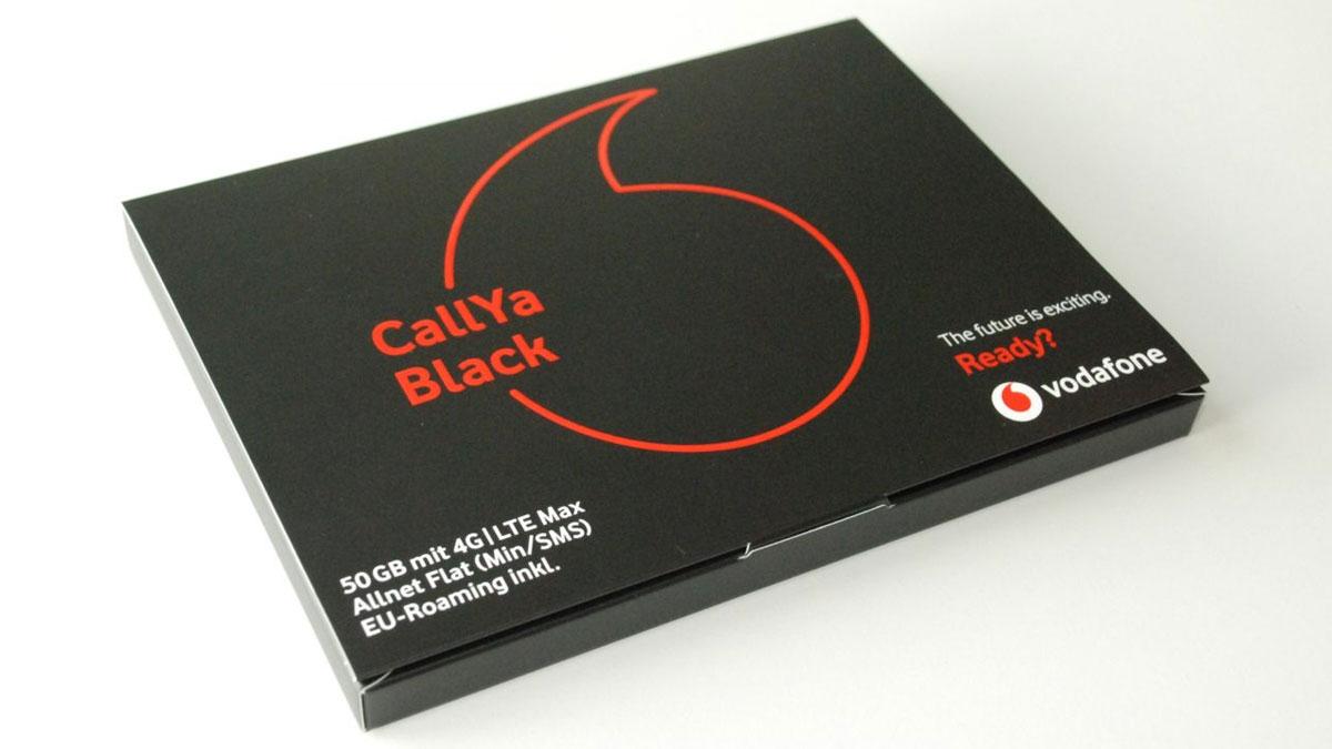 Die Vodafone CallYa Black Box