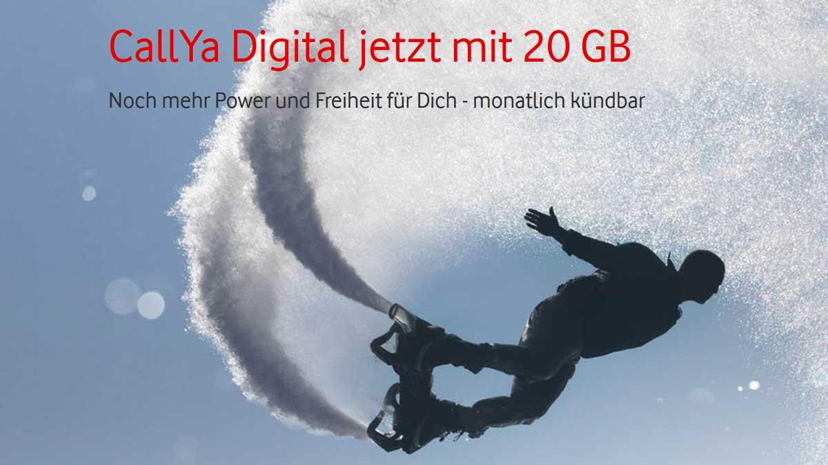 Vodafone Callya Digital 20 GB