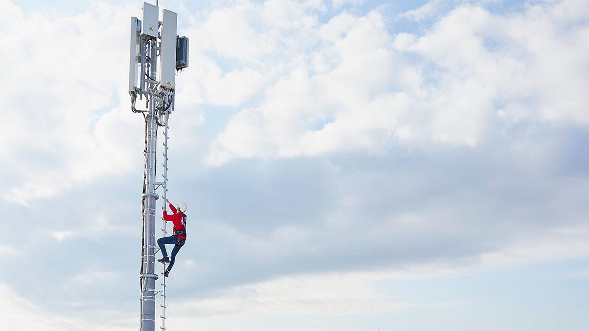 Vodafone Datenverbrauch 2019 - Mobilfunkmast