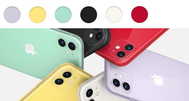 iPhone 11 alle Farben im Überblick