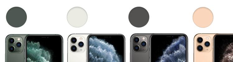iPhone 11 Pro Farben im Überblick