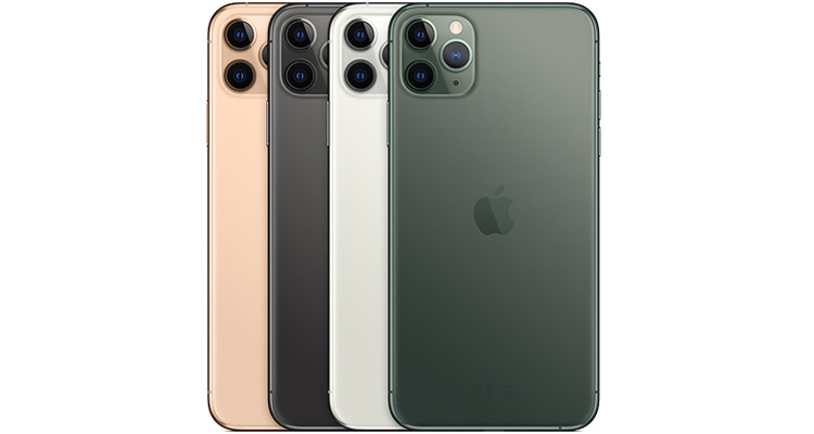 iPhone 11 Pro Max Farben Rückseite