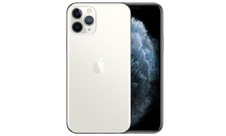 iPhone 11 Pro in Silber