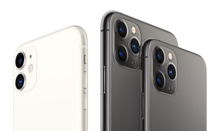 iPhone 11, iPhone 11 Pro Max und iPhone 11 Pro