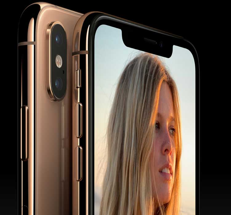 iPhone XS Max in Gold