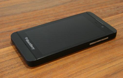 Blackberry Z10 Test - Ansicht 1