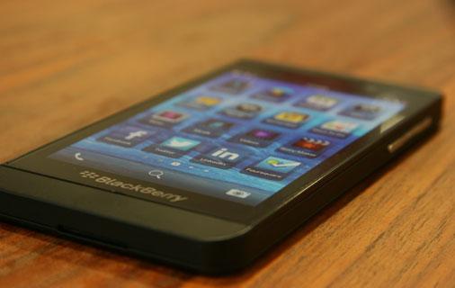 Blackberry Z10 Test - Ansicht 2