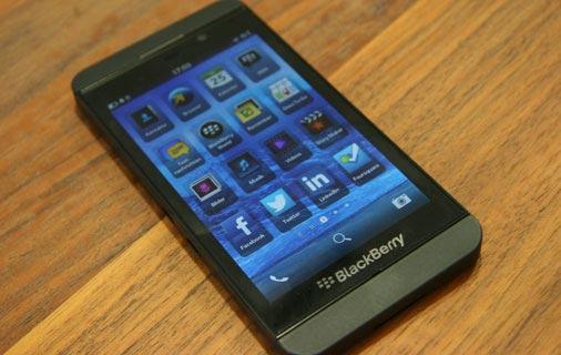 Blackberry Z10 Test - Ansicht 3