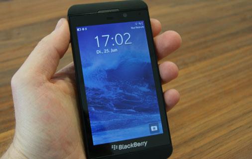 Blackberry Z10 Test - Ansicht 7