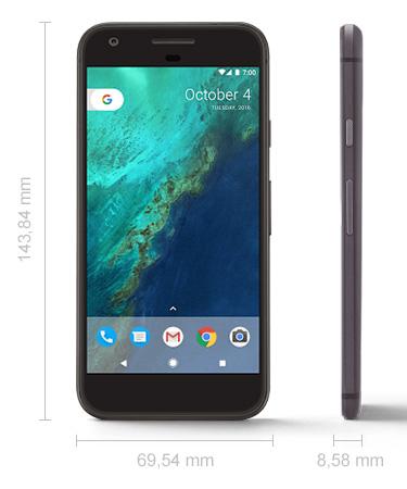 Abmessungen Google Pixel