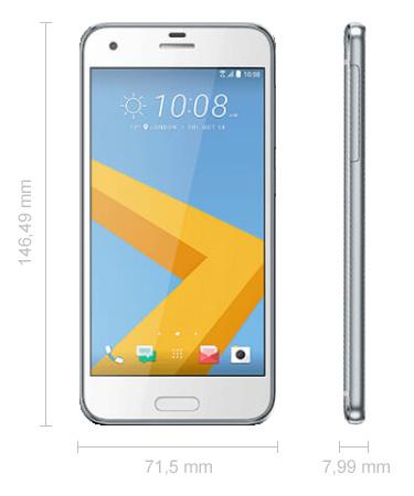 Abmessungen HTC One A9s