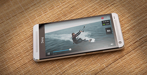HTC One Videoplayer