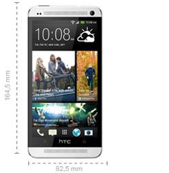 Abmessungen HTC One Max