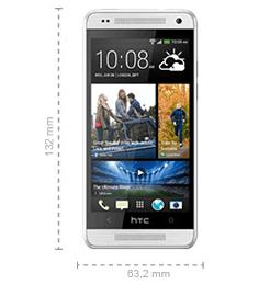 Abmessungen HTC One mini