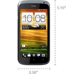 HTC One S Abmessungen