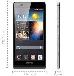 Huawei Ascend P6 Abmessungen
