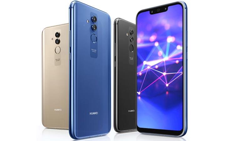 Farben Huawei Mate 20 Lite