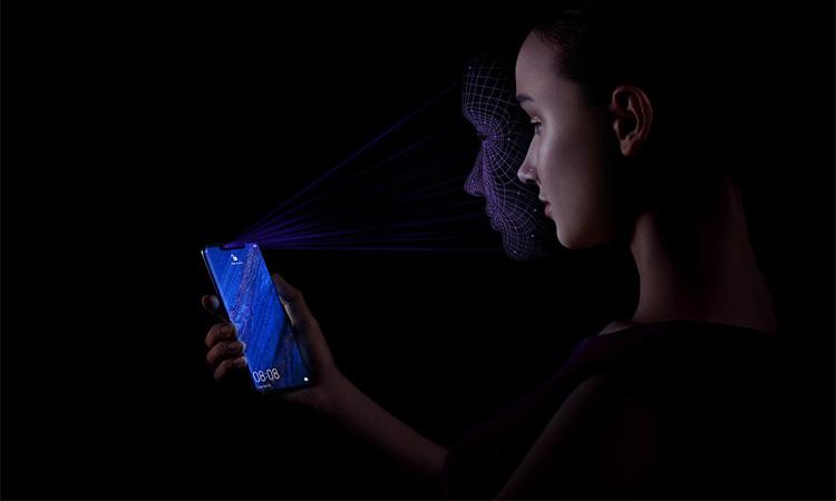 Huawei Mate 20 Pro 3D Gesichtserkennung