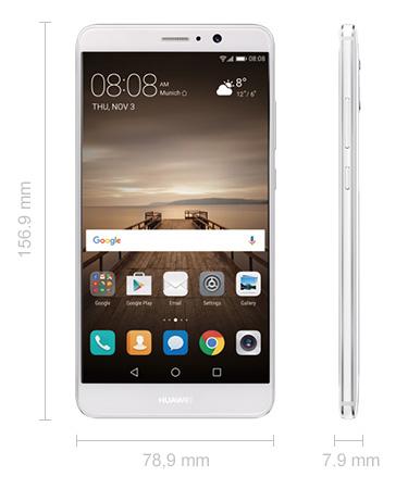 Abmessungen Huawei Mate 9
